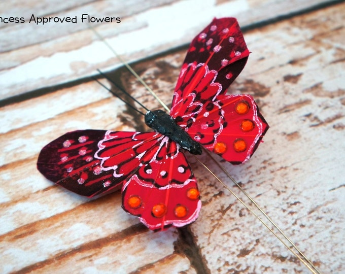 Butterfly Pick - RED