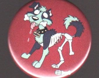 1.75in Zombie Dog Button