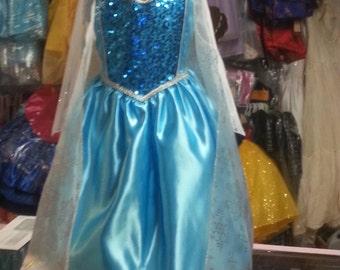 frozen costume princess  Infant ,  toddler , girl  elsa dress