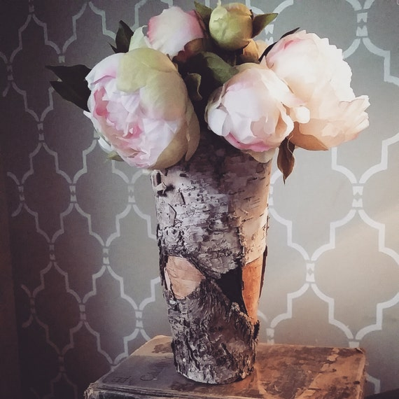 Birch Vase Wedding Vase Flower Vase Wedding By