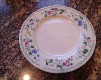 Collectible Faberware Replacement Dish English Garden Salad/Dessert Plate