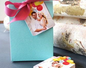 Wedding Photo Hang Tags (Boutique Tags)