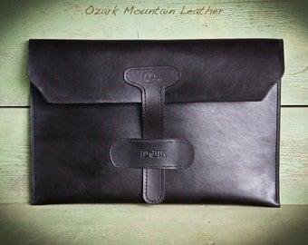 Custom Leather portfolio Satchel for Sara