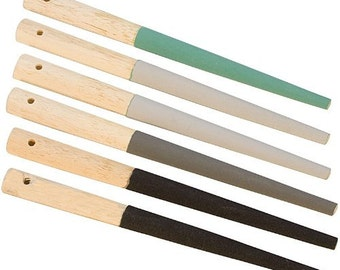 Round Sanding Stick Set of 6