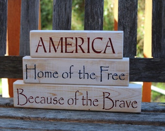 Patriotic Decor - Freedom Sign
