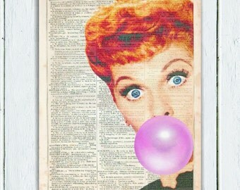 "Shop ""i love lucy"" in Art & Collectibles"