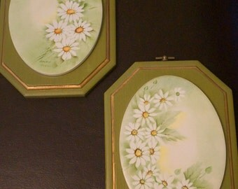 Set of Wooden Plaques