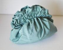 Turquoise clutch,silk clutch,small purse,aqua clutch,ruffle,shoulder bag,bridesmaid purse,bridal clutch,wedding,bridesmaid gift,evening bag
