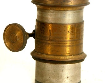 """Large Brass Lens Petzval Lens 13"""" 330mm f7 for Large Format Camera 5x7 or 8x10 (L1092)"""