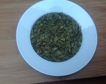 Spearmint dried organic spearmint leaf