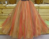 Fall Flowergirl, Fall Tutu, Fall Wedding, Custom Order, size 2 - 6