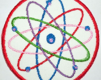Iron-On Patch - ATOM