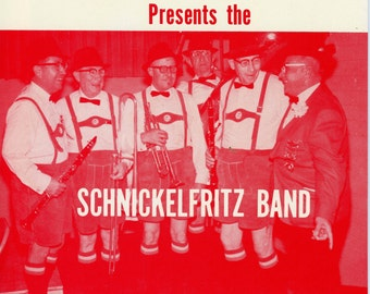 1966 Polka Record By The Schnickelfritz Band