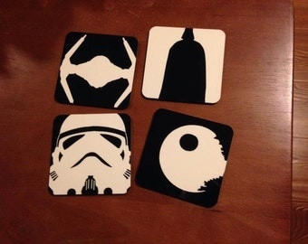 Star Wars inspired coaster set