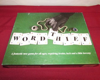 WORDTHIEF 1994 World Media Brokers Word Thief Game