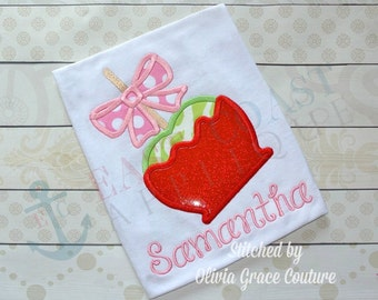 CANDY APPLE machine embroidery design
