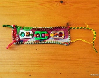 Bracelet made of upcycled materials