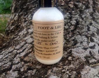 SLATHER FOOT & LEG (Natural Cream)