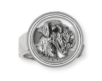 Sterling Silver Sealyham Terrier Dog Ring Jewelry  SEM1-HDR