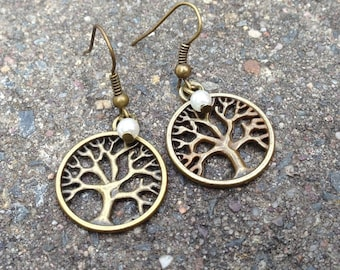 "Earrings ""Tree of Life"" bronze"