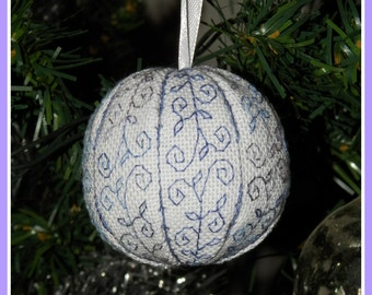 Bouboule - embroidery pattern (PDF)