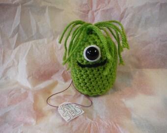 Sydney Yarnstones Crocheted Amigurumi with name tag