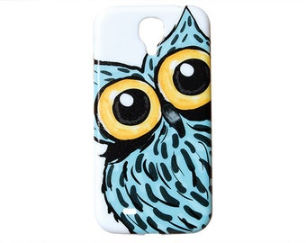 Cute Owl Design Case Samsung Galaxy S5 Case Back Cover For S4 Cases Tribal Primitive Hard Plastic Cover Colorful Skin Hipster Print 5 4 c38