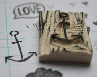 Anchor stamp | Etsy