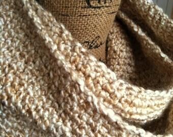 SALE--Gift Ideas for Her/Wife Gift/Mother/Best Friend/Fiance/Girlfriend--Neutral Women's Multicolor 50 Inch Vertical Stripe Infinity Scarf