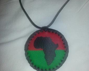AFRICAN MEDALLION #HANDMADE