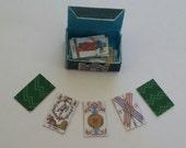Dolls house tarot cards