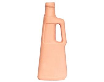 Porcelain Bottle Vase 9 Orange
