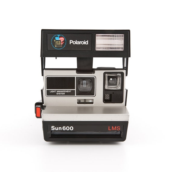 Polaroid Sun 600 LMS Light Management System - Bicentennial Limited Edition - film tested and working special edition