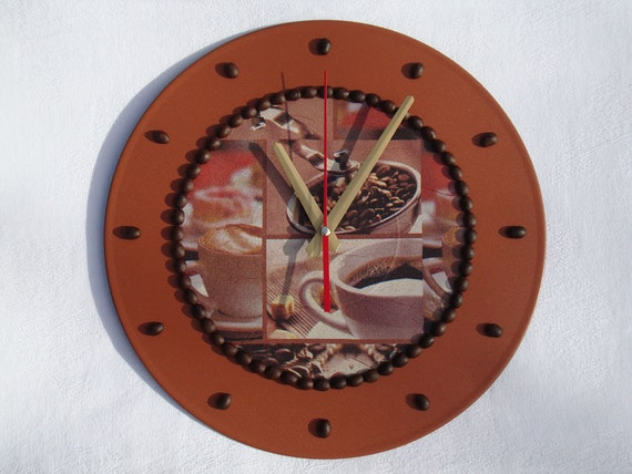 Wall Clock Coffee Clock Modern Wall Clocks Unique By