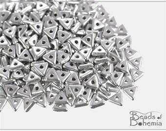 5 g Silky Metallic Mist Czech Tri-Beads 4x4x4 mm (8950)