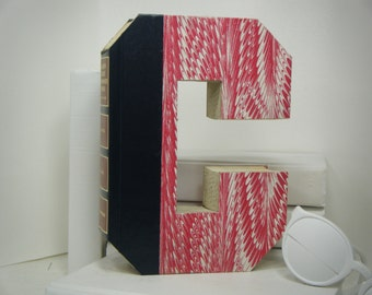 book letters c letter books engagement gift. Black Bedroom Furniture Sets. Home Design Ideas