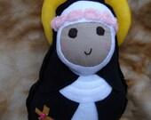 Saint Doll St. Rose of Lima Soft Catholic Religious Toy