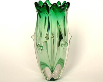 Czech Glass Vase