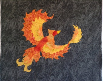 "Wall Hanging ""Phoenix Rising"""