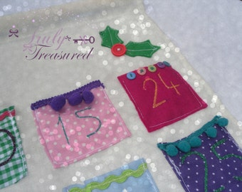 Luxury personalised and decorative advent calender