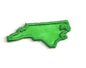 North Carolina State Patch! Any Color! Custom Made!