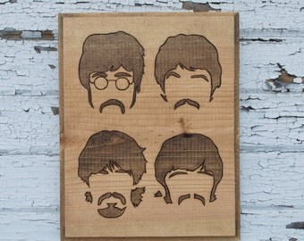 The Beatles - Member Silhouettes