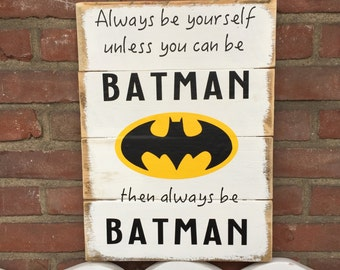 Wooden sign for kids