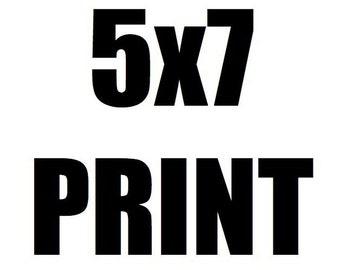 5x7 Neon Rocketeers Art Print