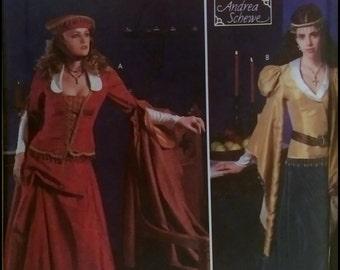 Simplicity 9246  Misses' Renaissance Costume  Size (4-10)  UNCUT