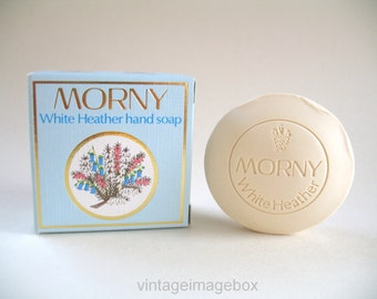 Vintage Morny White Heather Soap with box