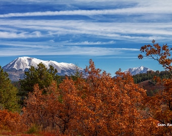 Colorado Mountain, Spanish Peaks, Colorado Photography, Colorado Picture, Colorado Autumn, Colorado Fall, Fall Wall Art, Colorado Decor