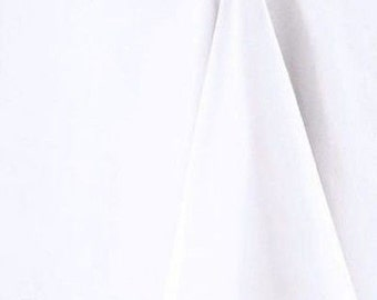 White Square Tablecloths - Available in 6 sizes