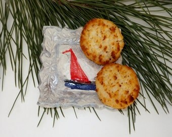 Sailboat Soap Dish, Spoon Rest, Ring Holder