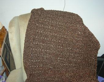 Handmade Crochet Lap Afghan - Ready to Ship!